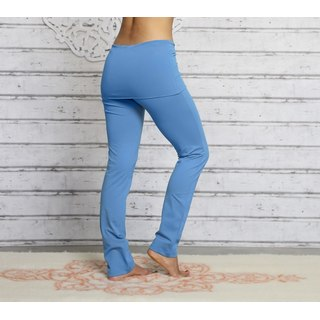 Pantalone Yoga (con gonna in vita e polsini)